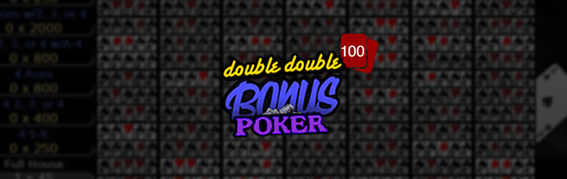 FOUR WAYS TO PLAY BONUS POKER