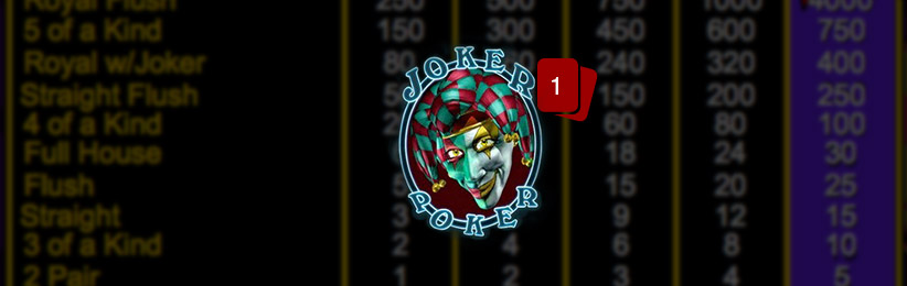 VIDEO POKER: WILD CARD GAMES