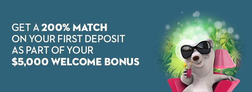 $5,000 Welcome Bonus