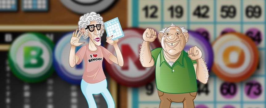 "Experience one of North America's most beloved games in slot form by spinning with Five Reel Bingo. Join grandma, grandpa and crazy Uncle Joe at the bingo hall and get ready to yell ""bingo!"" when you walk away with a profit. With classic animations including bingo cards and bingo balls, as well as a bonus round where you get to actually play bingo, this is a slot sure to leave you satisfied with a smile on your face. So get ready to listen for the numbers, stamp your card and scream out when you've won money with Five Reel Bingo."