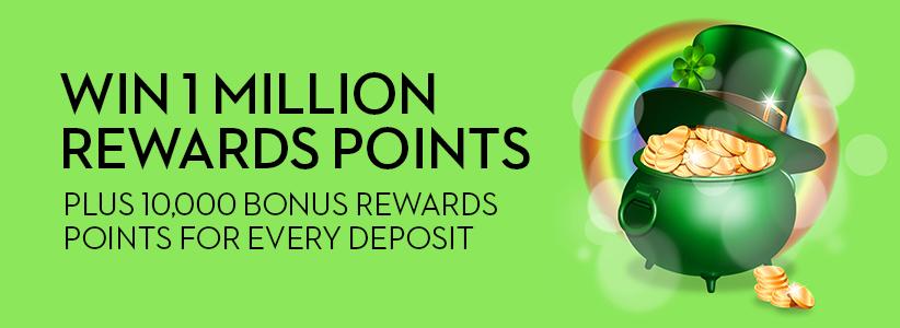 St. Patrick's Day Bonuses at Slots.lv