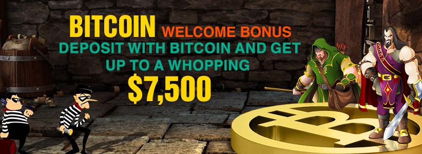 SLotslv Bonus Codes $7500 Bitcoin Casino Bonus